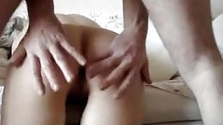 My wife anal sex on cam...