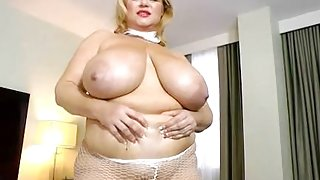 Slutty BBW Legend Dresses Up as Nun N Fucks H