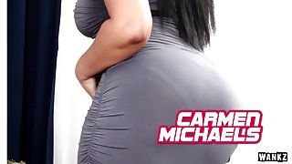 WANKZ- Hot Carmen Michaels Does Doggy
