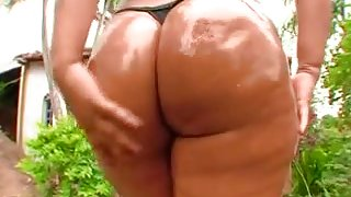 Nany- Big Slippery Brazilian Asses 1