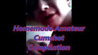 Homemade amateur cumshot compilation also introducing jesi