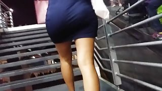 MILF SEXY IN DREES BLUE